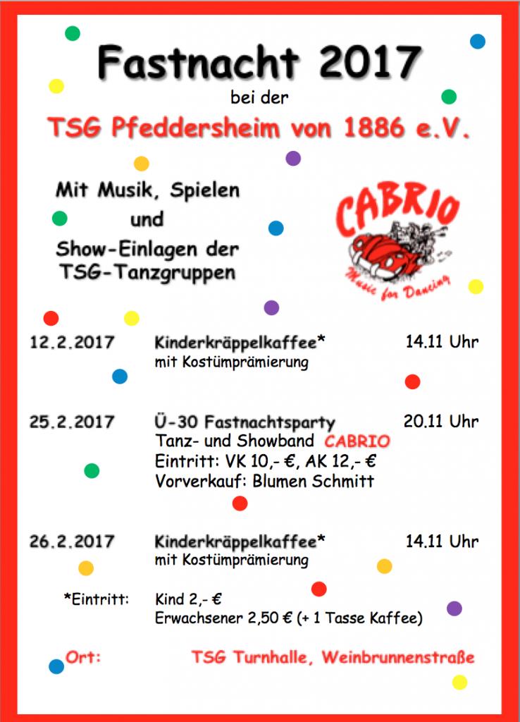 Fastnacht 2017