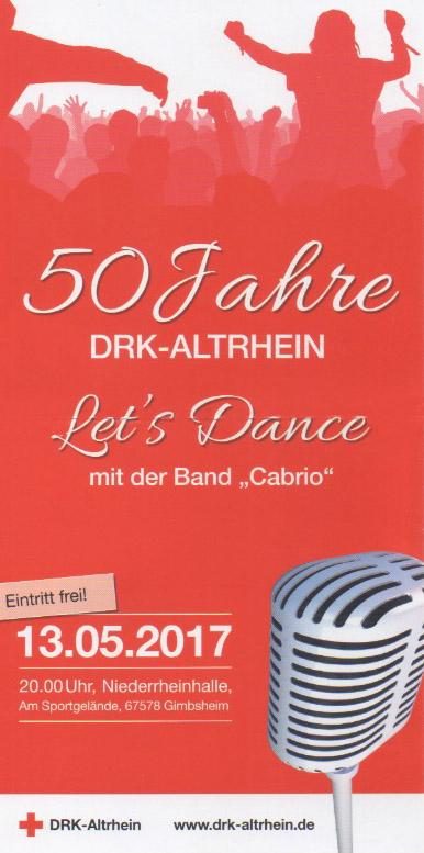 50 Jahre DRK Gimbsheim